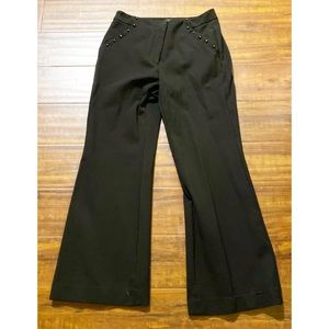 White household black market slim flare pants